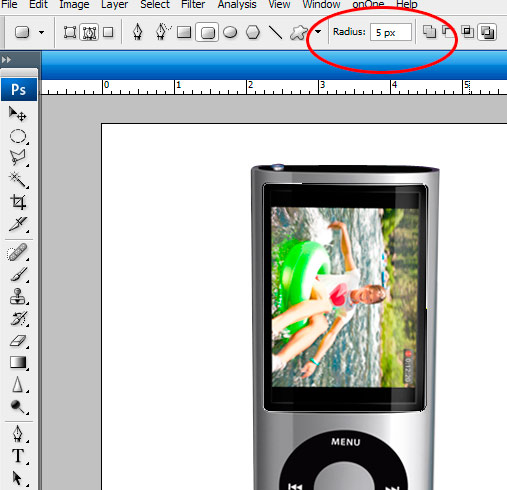 12 screen Create A Realistic Video iPod Nano In Photoshop