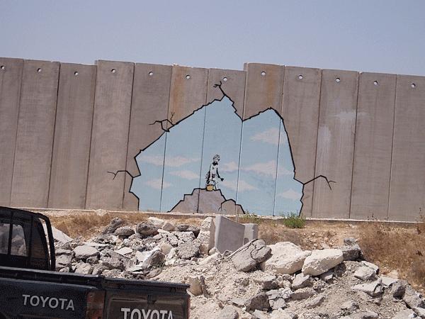 16 banksy 1280x1024 24 Inspiring Graffiti Designs
