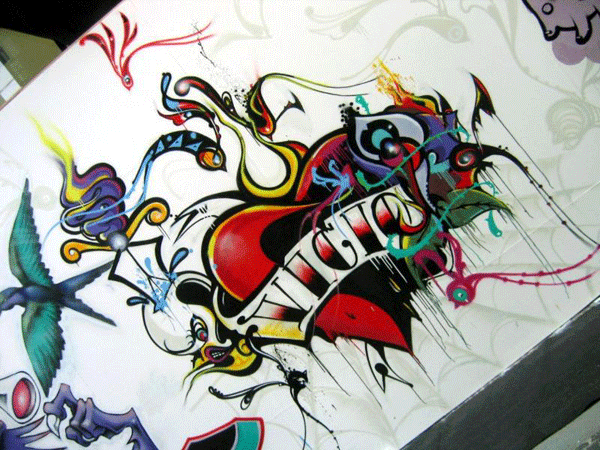 vicio graffiti by versatilegfx 24 Inspiring Graffiti Designs
