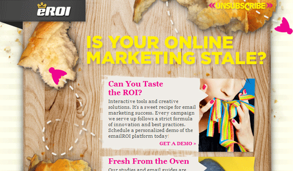 eroi 15 Clean And Effective Email / Newsletter Designs