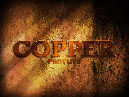 copperphotoshop Breathe New Life Into Your Typography With These 22 Techniques