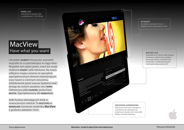 macview4 Apple Tablet Mock Up Done Last Year For School Project Slay Them All!