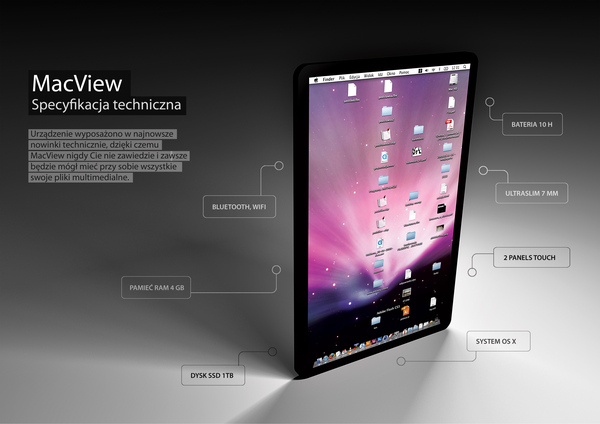 macview5 Apple Tablet Mock Up Done Last Year For School Project Slay Them All!