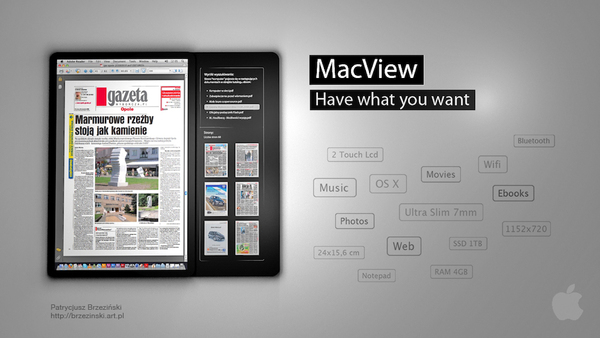 macview9 Apple Tablet Mock Up Done Last Year For School Project Slay Them All!