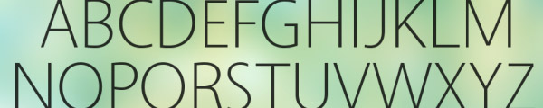 03 Vegur Top 30 Free But Very Professional Fonts For Everyday Use In 2010