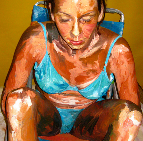 amazing body painting art (17) Amazing Paintings.. Umm Wait What?   I.D. 19