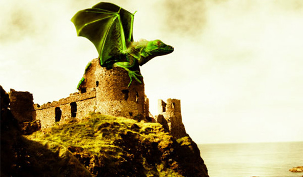 dragon 20 Awesome Photo Manipulation Tutorials For GIMP