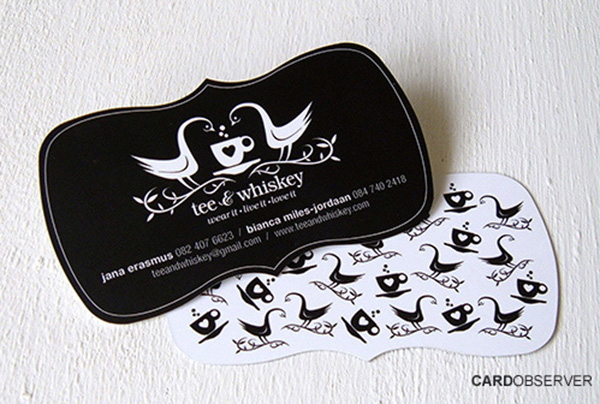 bow tie business card 50 Business Cards Designs That Break The Mold