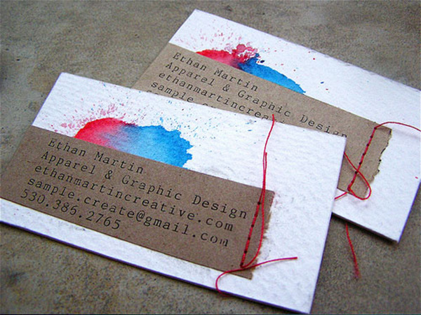 ethan martin 50 Business Cards Designs That Break The Mold
