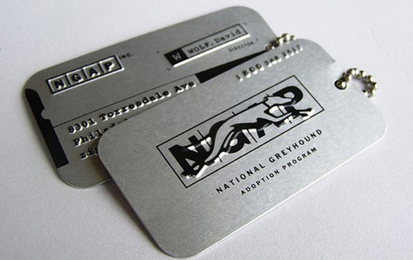 laurie demartino 50 Business Cards Designs That Break The Mold