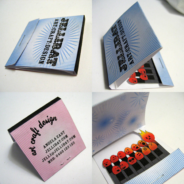 matchbook 50 Business Cards Designs That Break The Mold