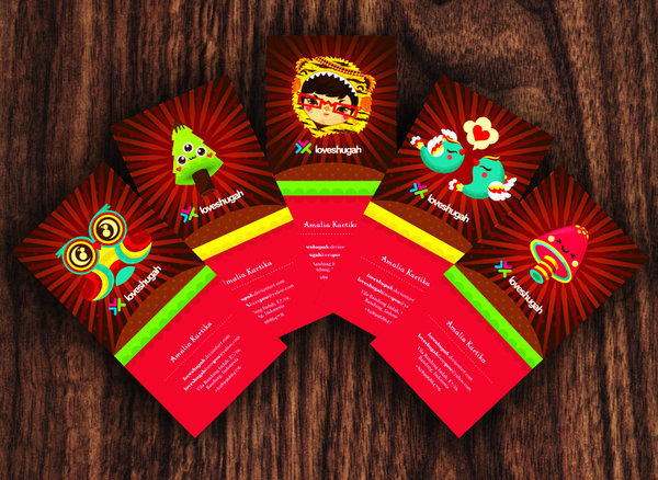my cutie 50 Business Cards Designs That Break The Mold