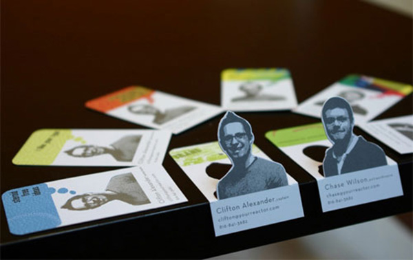 reactor 50 Business Cards Designs That Break The Mold