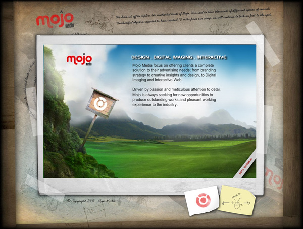 mojo 20 Awesome Examples Of Single Page Web Design