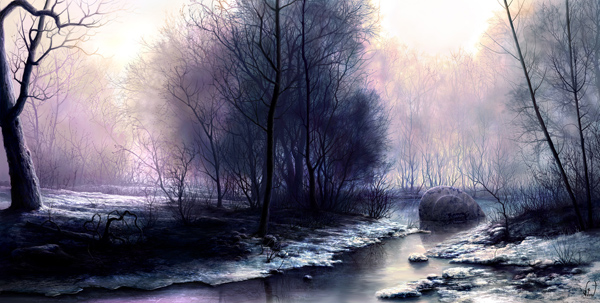 disaster new wide ver by VityaR83 Breathtaking Traditional Digital Paintings by Vitalik   I.D. 23