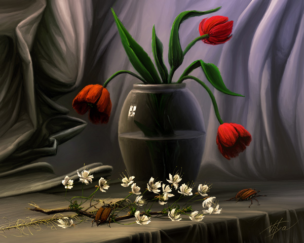 may bugs by VityaR83 Breathtaking Traditional Digital Paintings by Vitalik   I.D. 23