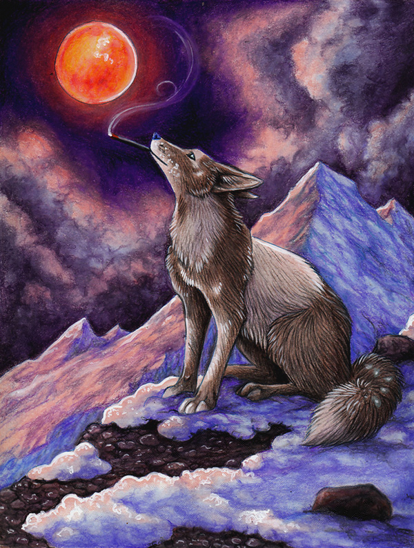 A Measure of Serenity by MoonsongWolf Fantastic Nature And Animal Designs by MoonsongWolf   I.D. 27