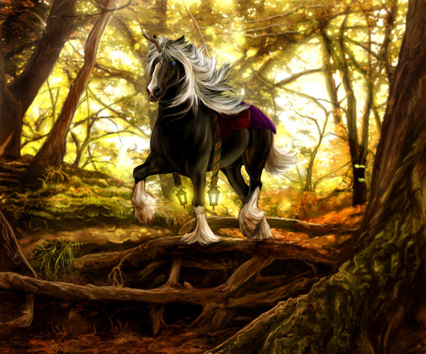 Down Less Traveled Paths by MoonsongWolf Fantastic Nature And Animal Designs by MoonsongWolf   I.D. 27