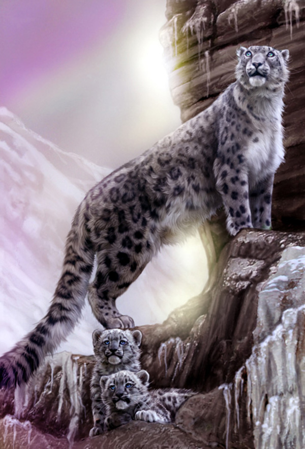Dreamers by MoonsongWolf Fantastic Nature And Animal Designs by MoonsongWolf   I.D. 27