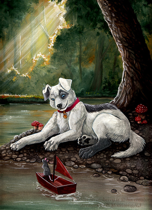 Halcyon Days by MoonsongWolf Fantastic Nature And Animal Designs by MoonsongWolf   I.D. 27