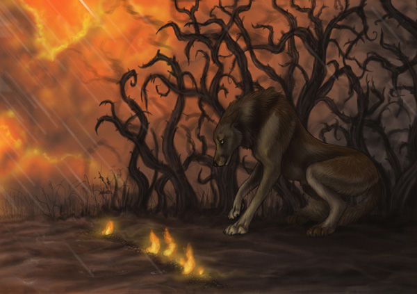 How We are Fallen by MoonsongWolf Fantastic Nature And Animal Designs by MoonsongWolf   I.D. 27