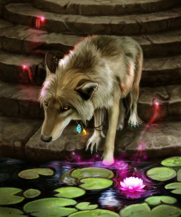 Life Force by MoonsongWolf Fantastic Nature And Animal Designs by MoonsongWolf   I.D. 27