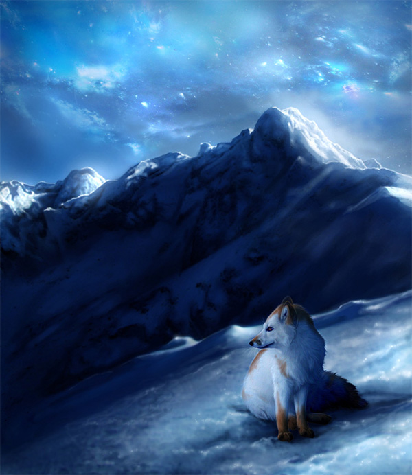 Northern Lights by MoonsongWolf Fantastic Nature And Animal Designs by MoonsongWolf   I.D. 27