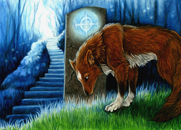 Prayer for the High Places by MoonsongWolf Fantastic Nature And Animal Designs by MoonsongWolf   I.D. 27