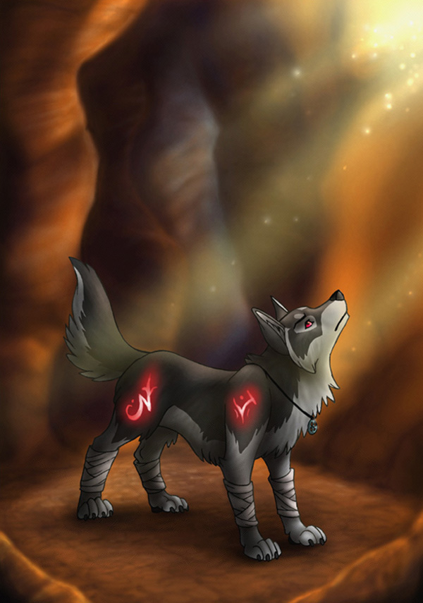 The Light of Hope by MoonsongWolf Fantastic Nature And Animal Designs by MoonsongWolf   I.D. 27