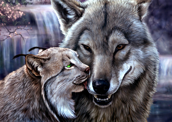Well  Now    by MoonsongWolf Fantastic Nature And Animal Designs by MoonsongWolf   I.D. 27