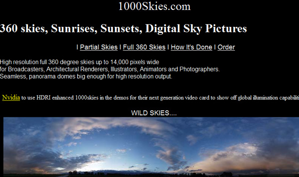 1000skies 50 Sites For Discovering Free Textures