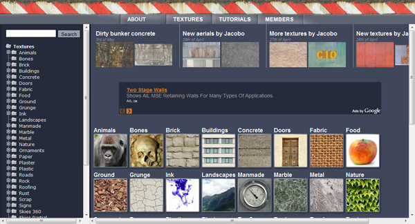 cgtextures 50 Sites For Discovering Free Textures