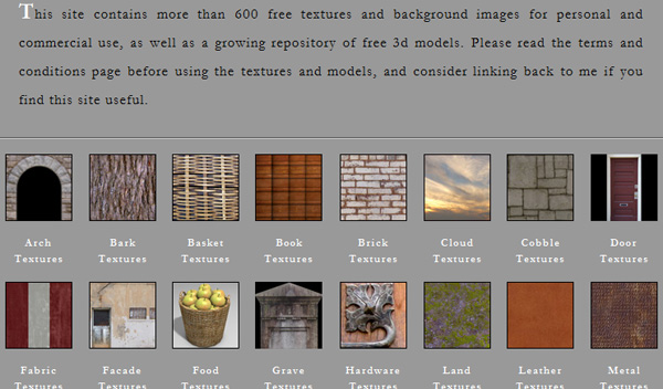dougturner 50 Sites For Discovering Free Textures