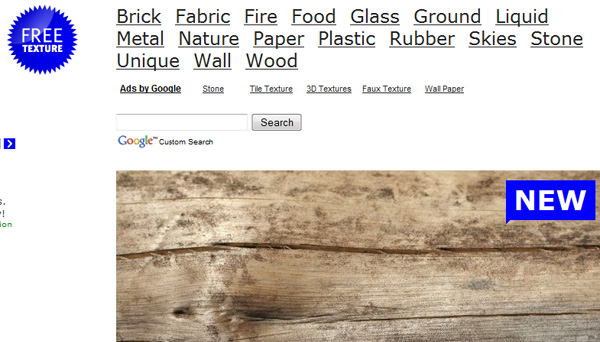 freetexture 50 Sites For Discovering Free Textures