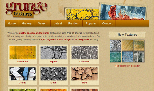 grungetextures 50 Sites For Discovering Free Textures