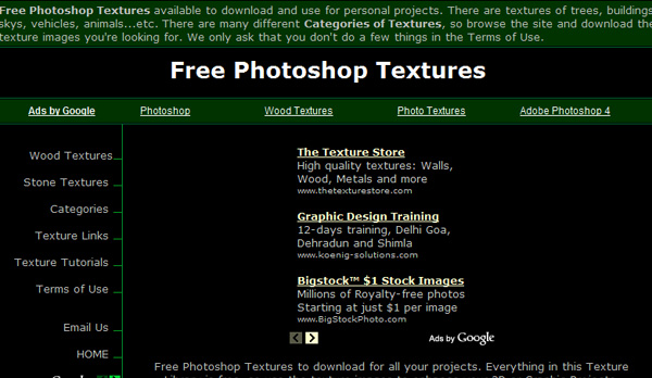 photoshoptextures 50 Sites For Discovering Free Textures