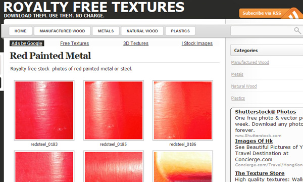 royaltyfreetextures 50 Sites For Discovering Free Textures