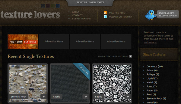 texturelovers 50 Sites For Discovering Free Textures