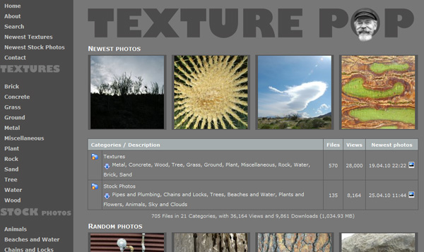 texturepop 50 Sites For Discovering Free Textures