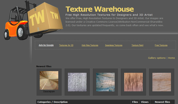 texturewarehouse 50 Sites For Discovering Free Textures