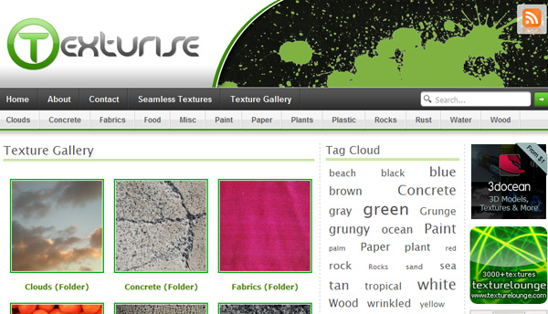 texturise 50 Sites For Discovering Free Textures