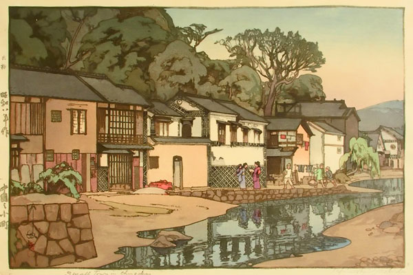 beautiful wood-block prints by hiroshi yoshida 1