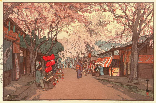 beautiful wood-block prints by hiroshi yoshida 4