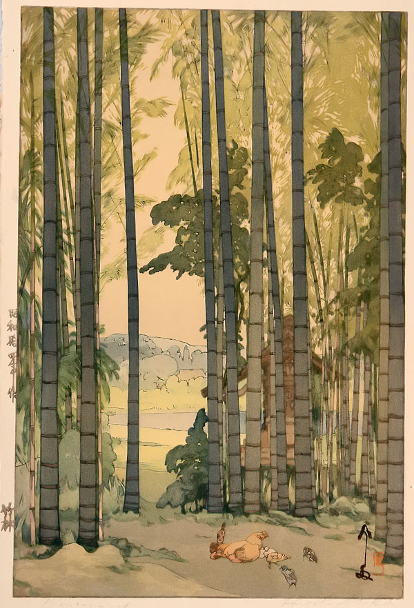 beautiful wood-block prints by hiroshi yoshida 5