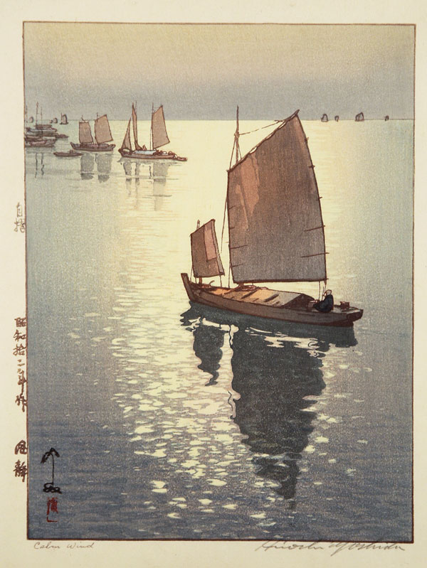 beautiful wood-block prints by hiroshi yoshida 6