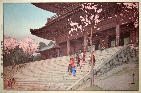 beautiful wood-block prints by hiroshi yoshida 7
