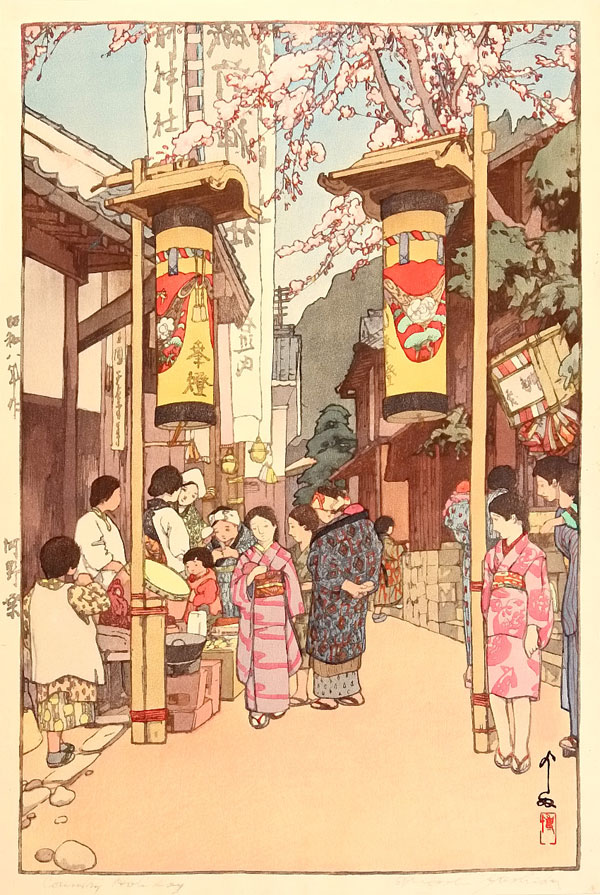 beautiful wood-block prints by hiroshi yoshida 8