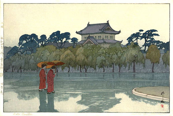 beautiful wood-block prints by hiroshi yoshida 11