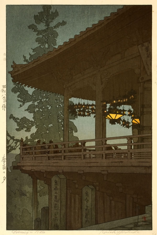 beautiful wood-block prints by hiroshi yoshida 13