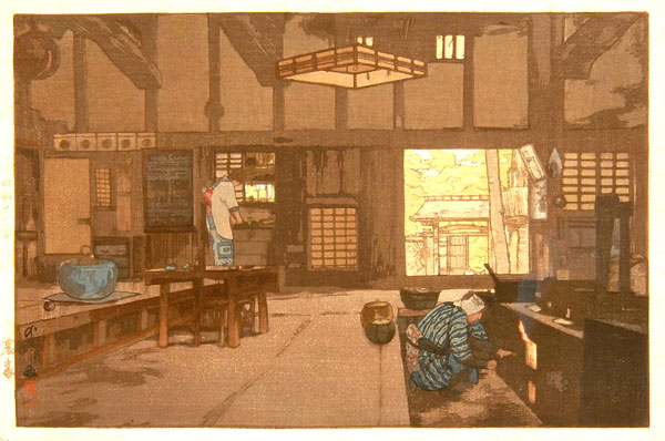 beautiful wood-block prints by hiroshi yoshida 14